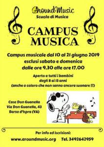 Campus estivo musicale dal 10 al 21 giugno