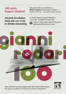 Gianni Rodari compie cento anni