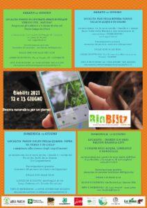 Evento Bioblitz 2021-Diventa Naturalista per un giorno