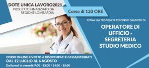 Corso Gratuito Segretaria Studio Medico